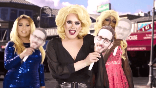 Democrat's campaign ad features drag queens slaying 'Firework.'