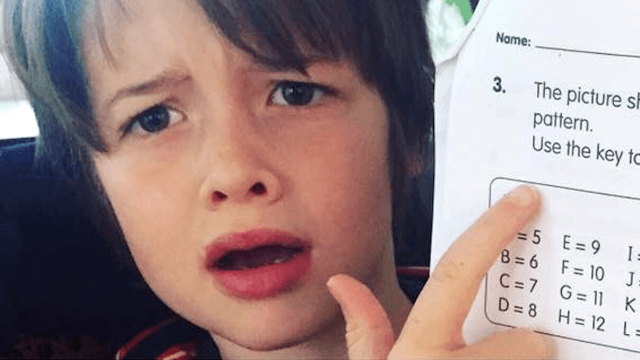 Parents share six-year-old's math problem that stumped them. Now the whole world is stumped.