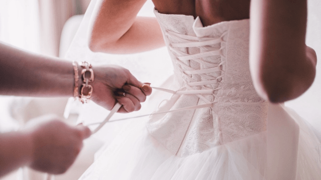 No More Crying In Public: New Website Lets You Design Your Wedding Dress  And Try It On At Home.