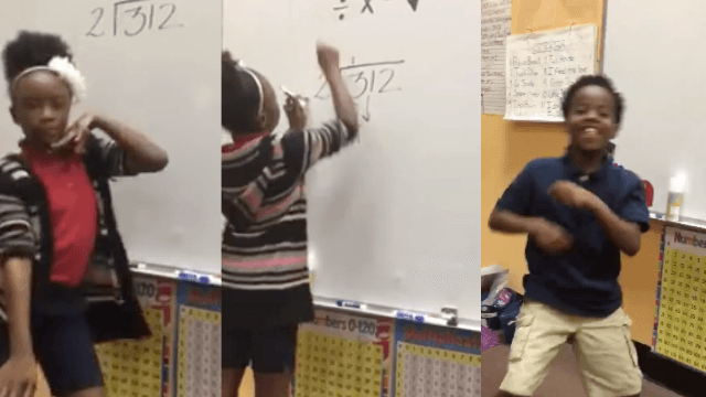 Fourth graders' song about long-division is so good it gets internet hyped about math.