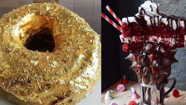 11 wildly over-the-top foods that took the Internet by storm.
