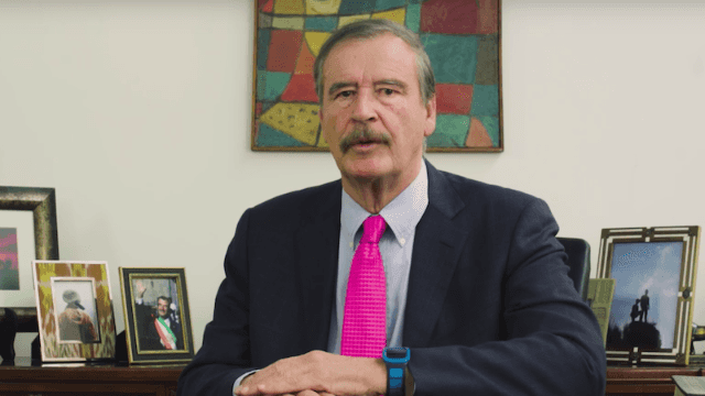 Former Mexican president continues to troll Trump, this time explaining how to avoid nuclear war.