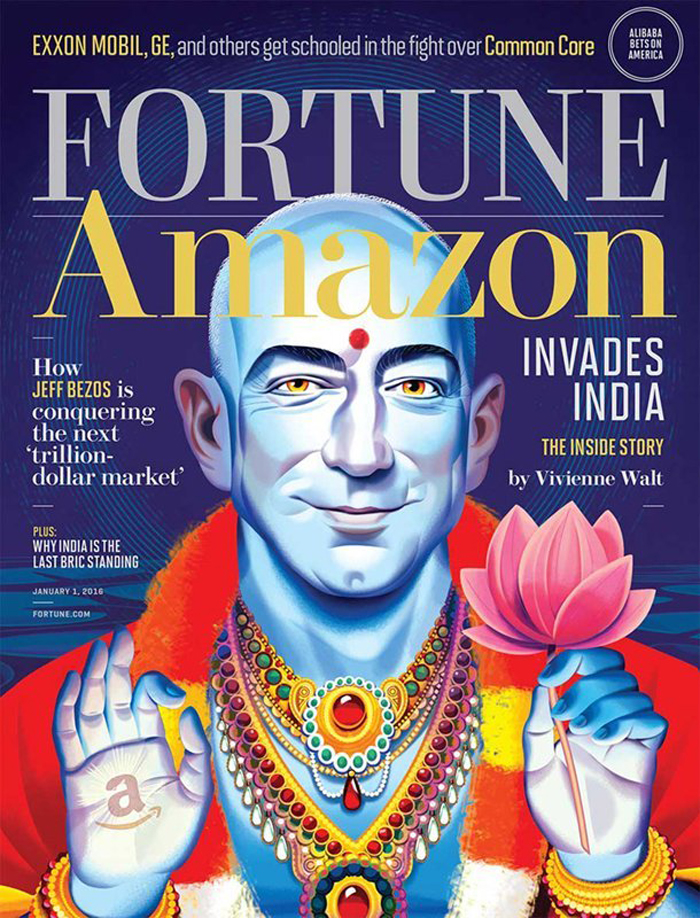 A whole lot of people are offended by this Fortune magazine cover featuring Jeff Bezos.
