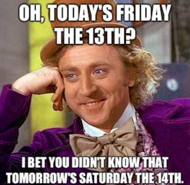 friday the 13th 2017 the best memes on the internet