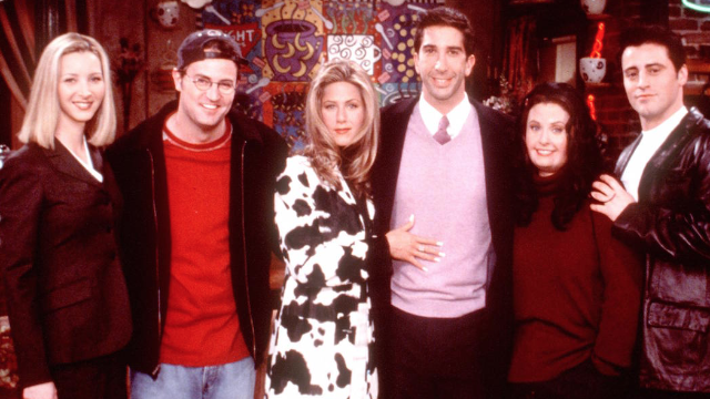 The 'Friends' cast reunited. Could this be their day, their week, their month, or even their year?