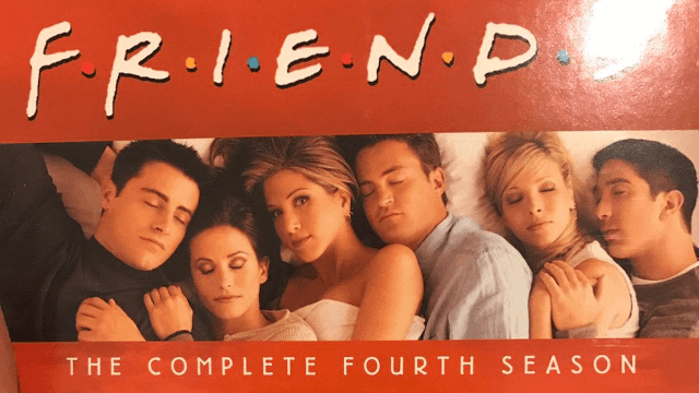 A peculiar detail on this 'Friends' DVD cover has Twitter exploding with conspiracy theories.