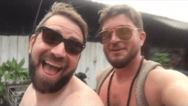 Best friends try to convince skeptical families they're not gay with 'reassuring' vacation montage.