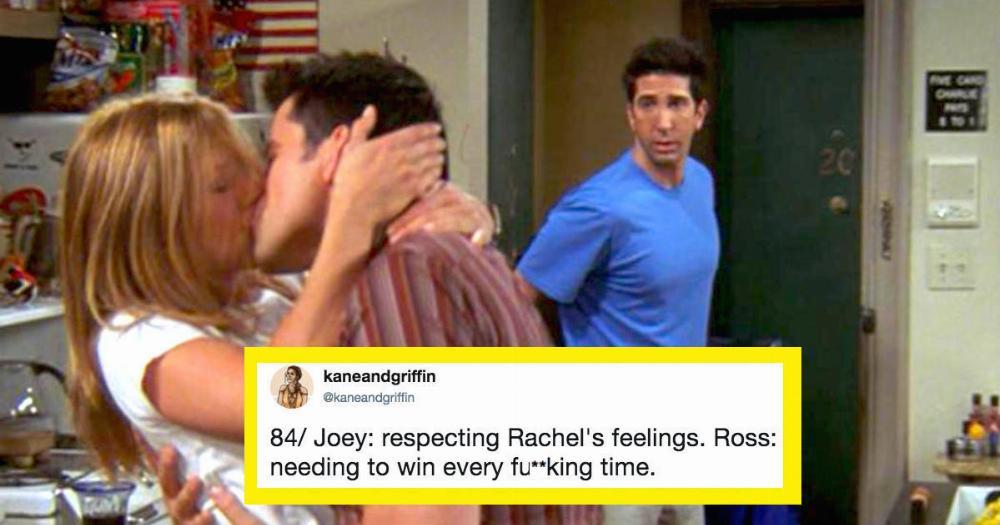 friends joey and rachel relationship