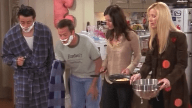 Is this scene from 'Friends' the original Mannequin Challenge?
