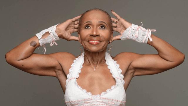 World's oldest bodybuilder Ernestine Shepherd is 80 going on 45.