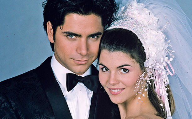 Lori Loughlin celebrated Uncle Jesse and Aunt Becky's 25th anniversary on Instagram.