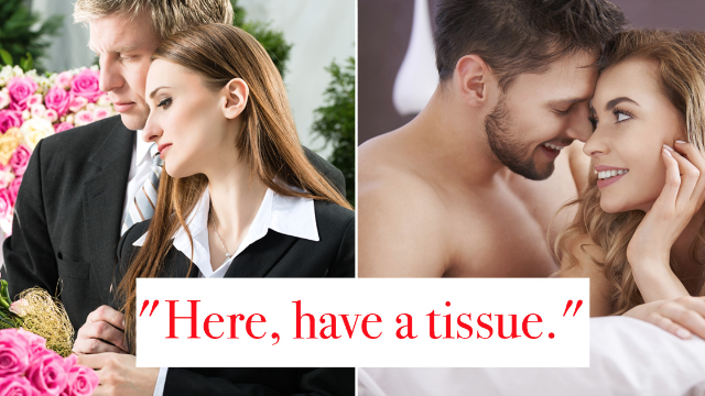 18 of the only appropriate things you can say both at a funeral and during sex.