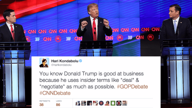 29 of the funniest reactions from comedians on Twitter to the #GOPDebate in Florida