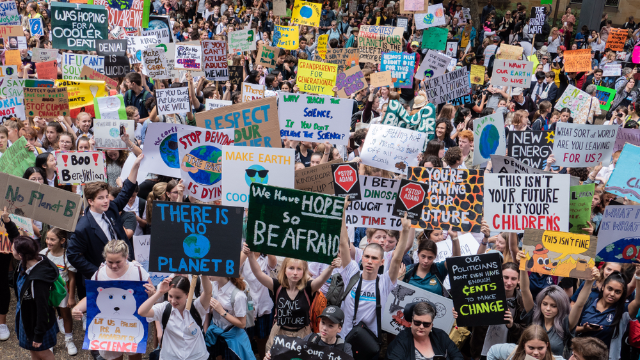 22 snarky signs from the climate strikes all over the world.