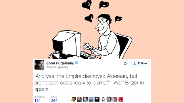 """The 29 funniest tweets of 10/17/16: Julian Assange, """"Rigged!"""" redux, Trump TV, Ryan Lochte and more."""