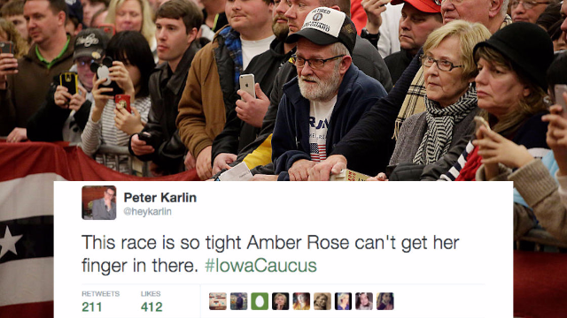The 33 funniest reactions on Twitter to the Iowa Caucus results.