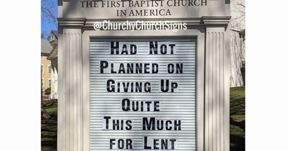 17 Funny Church Signs About The Coronavirus Pandemic That Jesus