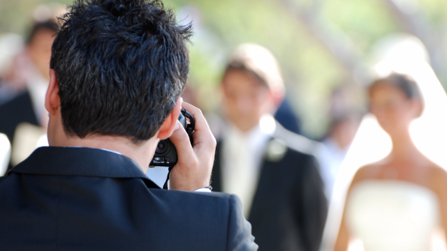'Not A Wedding Photographer' offers a behind-the-scenes look at people's weddings.