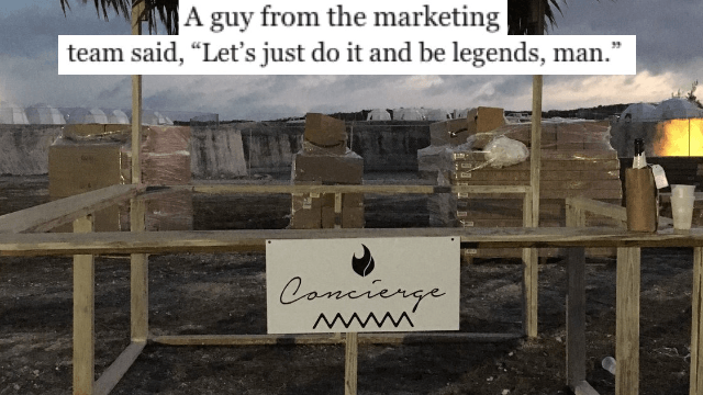 Fyre Festival organizer who quit dishes on everything that went wrong behind-the-scenes.