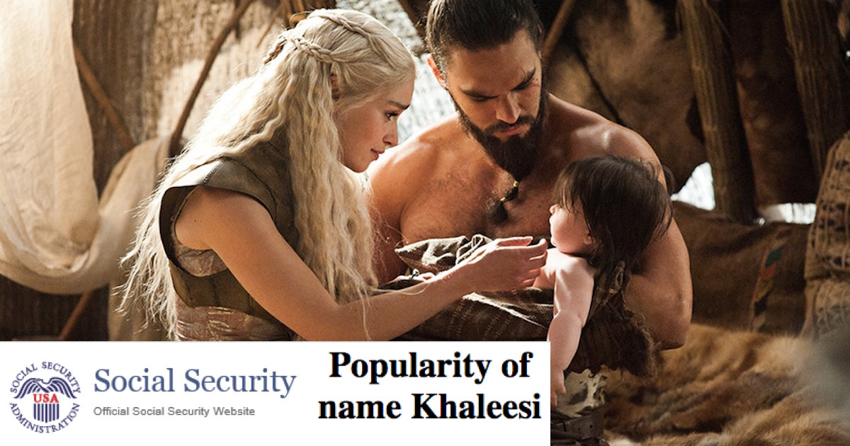 People Are Actually Naming Their Kids Khaleesi And After -6765