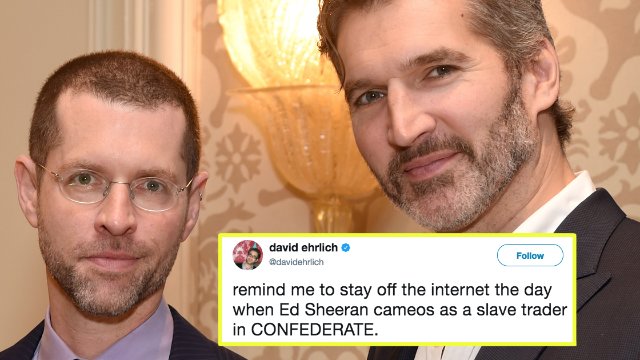 Twitter is irate over 'Game of Thrones' creators' new show: 'Confederate.'