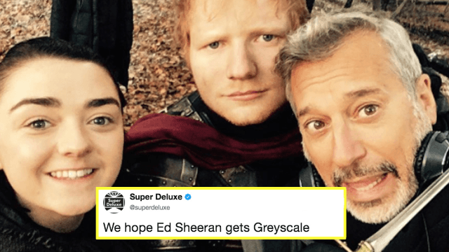 'Game of Thrones' director desperately defends Ed Sheeran's hated cameo.