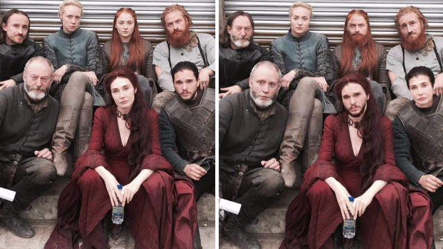 Fans are photoshopping this picture of 'Game of Thrones' stars. It's pure genius.
