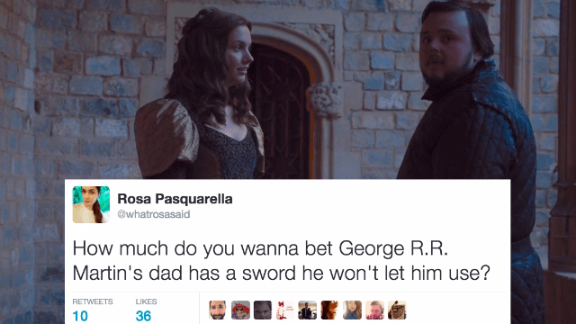 The 22 funniest, spoiler-filled reactions to 'Game of Thrones' Season 6, Episode 6, 'Blood of my Blood.'