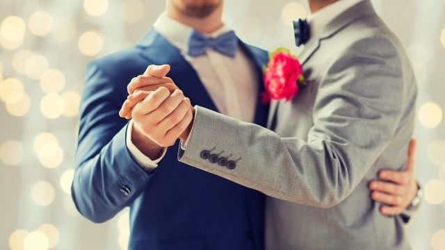 Gay couple exposes homophobic wedding venue that refused to marry them.