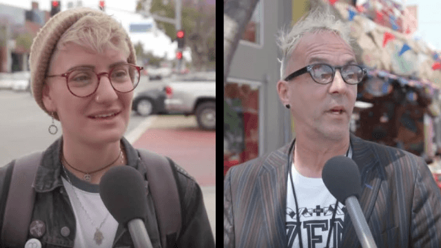 Gay people tell Jimmy Kimmel the 'straightest' thing they've ever done in honor of Pride Month.