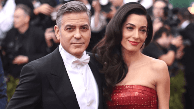 George Clooney and Amal Clooney welcomed their twins and George already made a dad joke.
