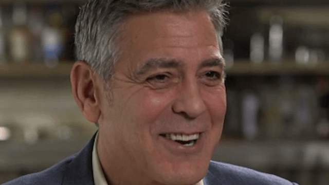 George Clooney opens up about becoming a dad for the first time.