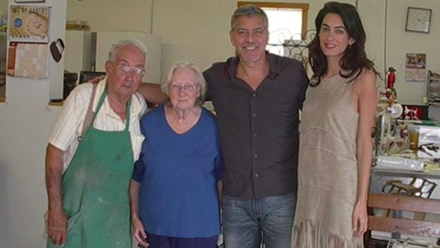 George Clooney brings wife home to Kentucky, introduces world to the best bakery ever.