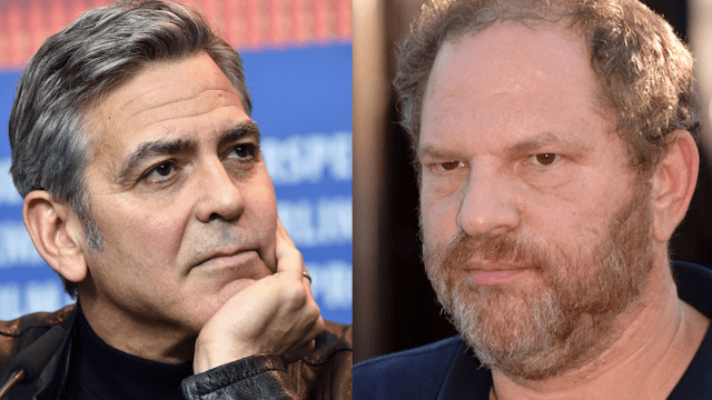 George Clooney calls out old friend Harvey Weinstein over sexual harassment allegations.