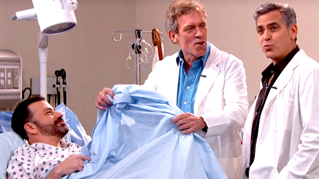 George Clooney, Hugh Laurie, and Jimmy Kimmel made the ultimate doctor drama.