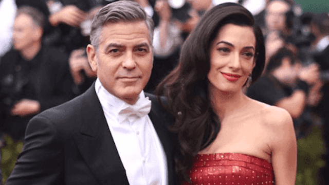 George Clooney plans to sue after paparazzi snap pics of his newborn twins.