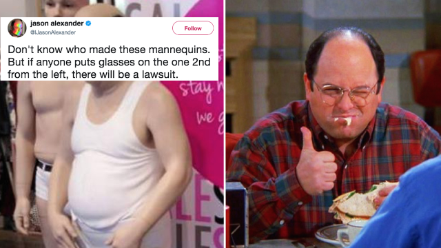 George Constanza just came to life and Jason Alexander is here for it.