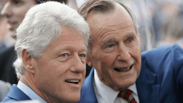 This letter shows how George H.W. Bush handled losing to Bill Clinton in the 1992 election.