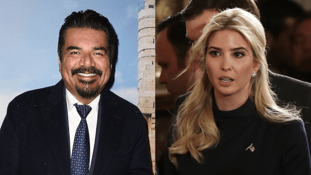 George Lopez jokes with fan about 'pimping' Ivanka Trump and people are pissed.