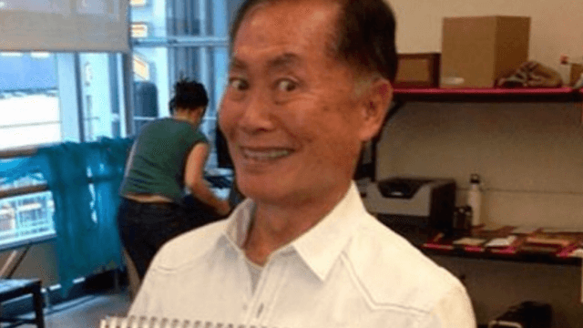 Sorry, George Takei isn't running for congress in 2018—even though he probably should.