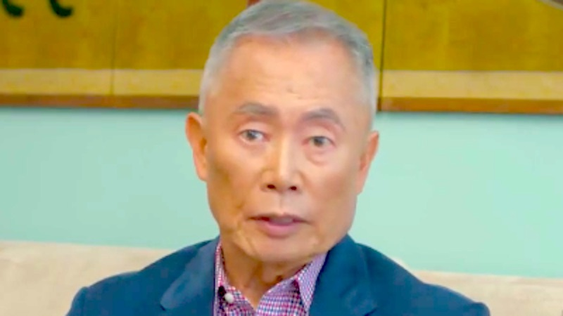 George Takei talked about his time in an American internment camp to warn about Trump.