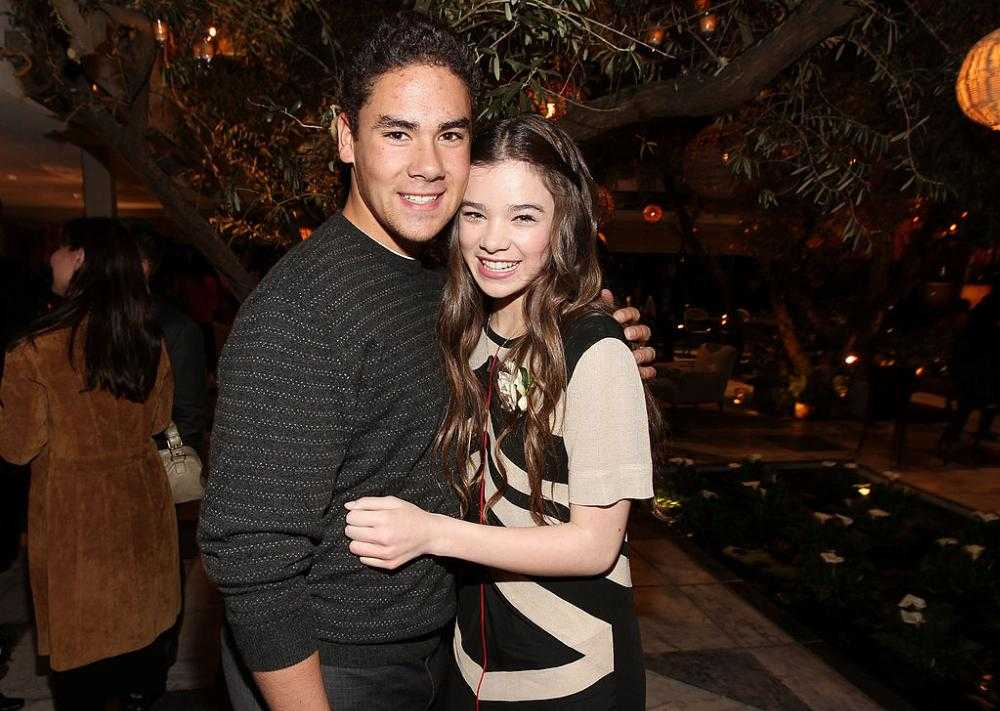 Hailee Steinfeld brother, Griffin Steinfeld