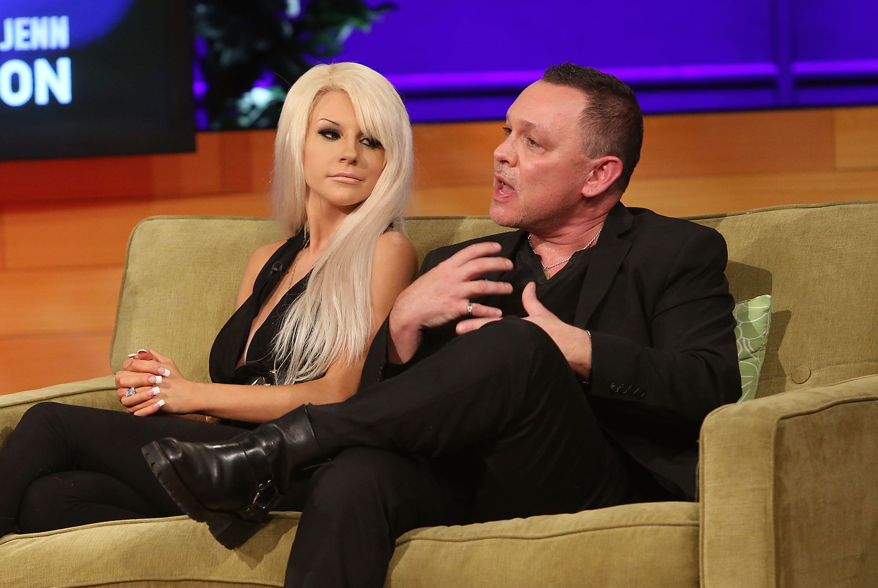 The lovebirds in better days, on VH1's Couples Therapy in 2014.