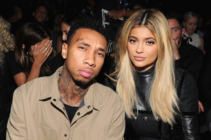 The man, the myth, the legend: Tyga, and his current lady, Jenner.