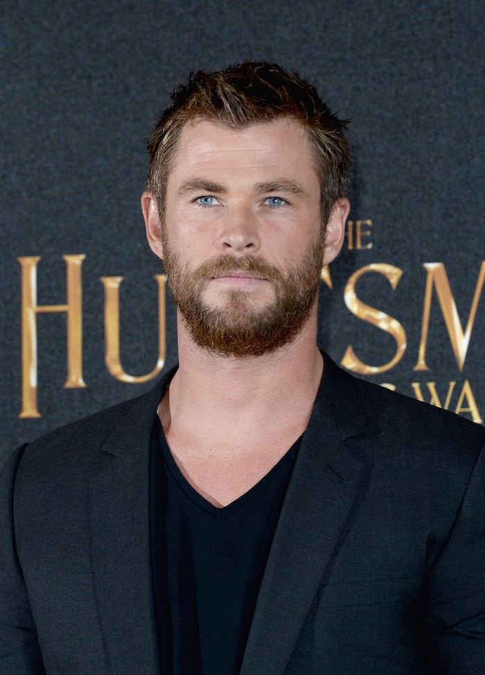 Chris Hemsworth, a gift to feminists and non-feminists.