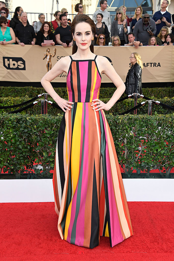 The 10 worst looks from the 2017 SAG Awards as chosen by someone with salsa stains on her shirt.