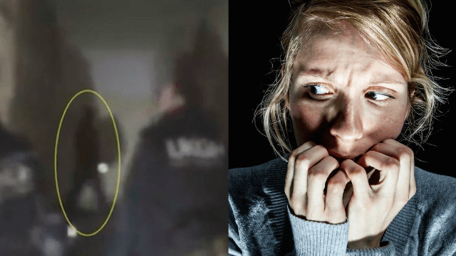 This 'ghost' sighting captured on video at an abandoned military base seems legit.