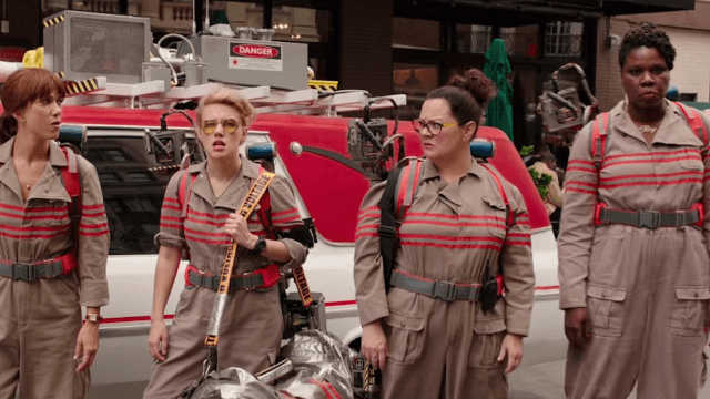 The all-female 'Ghostbusters' reboot raked in a not-too-shabby $46 million this weekend.