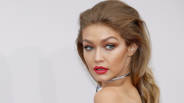 Gigi Hadid showed off her full-grown armpit hair in a new video.