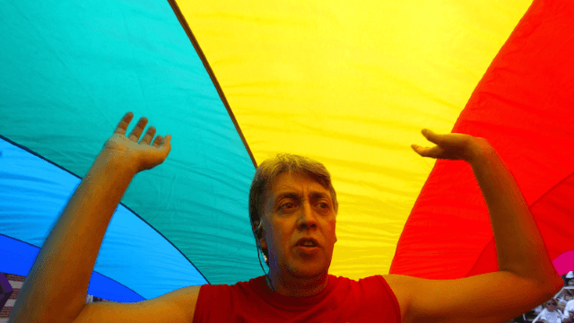 The internet honors the life of gay rights activist and rainbow flag creator Gilbert Baker.